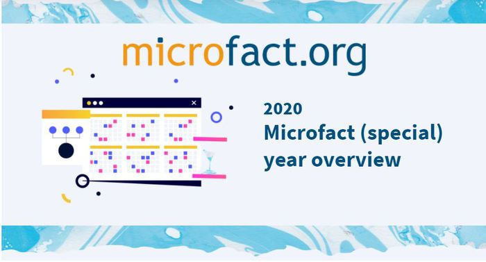 We invite you to look at our summary of the special year 2020